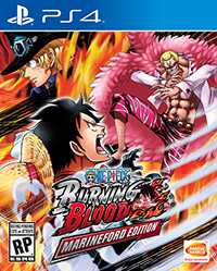 One piece : Burning blood